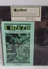 Chakan the Forever Man The Demons of the Green Gem Graphic Novella Signed by RAK