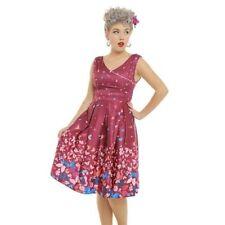 Polyester Regular Size Lindy Bop Dresses for Women