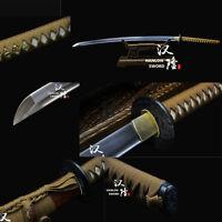 Handmade 1095 High Carbon Steel Blade Japanese Samurai Sword Full Tang Katana