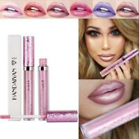 Glitter Matte Liquid Lipstick Waterproof Makeup Lip Gloss Long Lasting