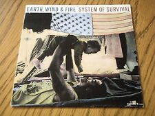 "EARTH, WIND & FIRE - SYSTEM OF SURVIVAL   7"" VINYL PS"
