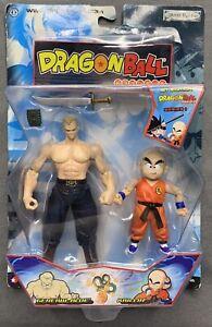 Dragon Ball Series 1 1st Edition General Blue & Krillin - Jakks Pacific - NIB