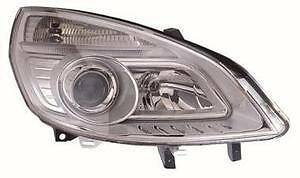 Renault Scenic Headlight Unit Driver's Side Headlamp Unit 2006-2009