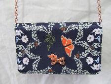 WOMEN KYOTO GARDEN SMALL CROSSBODY/MESSENER EVENING BAG WITH CHAIN
