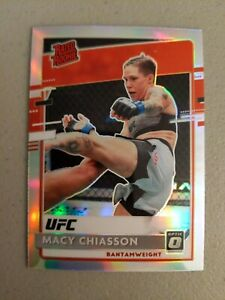 Macy Chiasson 2021 Chronicles UFC Optic Rated Rookie Silver