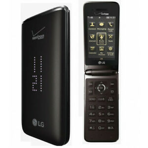 LG VN370 Exalt 2 - Brown (Verizon) Flip Phone Must Read