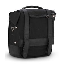 Burly Voyager Packtasche, Satteltasche, Schwarz, für Harley-Davidson