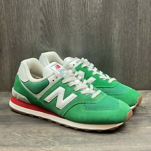 New Balance 574 Sneakers Mens Size 8.5 Rainbow Pack Green ML574HE2