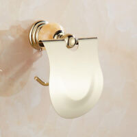 Bathroom Toilet Paper Holder Tissue Roll Rack Storage Wall Mounted Dispenser CB