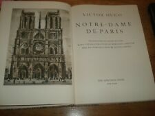 VICTOR HUGO NOTRE DAME DE PARIS 1955 THE HERITAGE PRESS