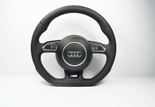 AUDI SQ5 LINE  A5 S5 SQ5 STEERING WHEEL WITH AIRBAG FLIAT BOTTON   1160
