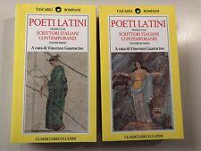 Poeti latini tradotti da scrittori italiani contemporanei (cofanetto 2 vol 1°ed)