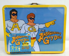 SDCC Entertainment Earth Excl Ambiguously Gay Duo Lunch Box AF Set Sealed Mint