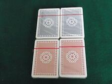 Piatnik Vienna Austria Playing Cards, 4 full packs of sealed Bridge Cards - new