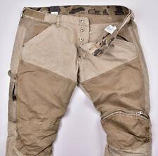 G-STAR RAW Elwood 5620 Workwear 3D Zip Straight CB W35 L32 Outdoor Jeans Khaki