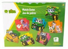 54pc John Deere Kids Match/memory Card Game Children/family Interactive Fun 3y