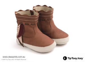 NEW Tip Toey Joey Baby Boots - CRAFTY *40% SALE* (More Colours)
