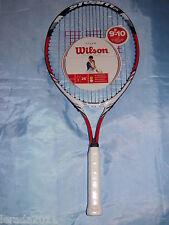 """WILSON Steam 25"""" Racchetta da tennis età 9-10 Junior Giochi Sport Team Racchetta Raquet"""