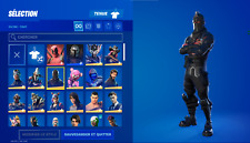 Fn account with Black Knight +130 skins + save the world + 2000$ spend