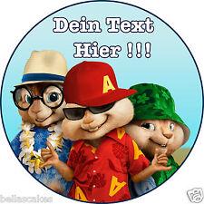 Tortenaufleger Alvin und die chipmunks Fototorte Eßbar Tortenbild Dekoration