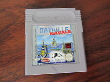 BATAILLE NAVALE       -----   pour GAME BOY
