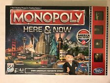 NEW SEALED IN BOX Monopoly Here and Now: American Version (Hasbro Gaming)