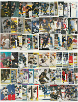 Alexander Mogilny 72 Card Lot All Different With Inserts RC See Scans NHL Hockey