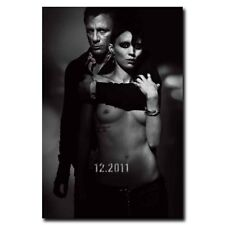 The Girl with the Dragon Tattoo 24x35inch Classic Movie Silk Poster