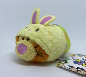 "Disney Tsum Mini Plush 3.5"" JAPAN Bunny Easter 2015 Tigger RARE 💕 US SELLER"