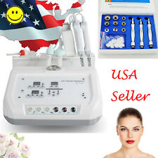 4In1 Ultrasound Face Skin Scrubber Machine Microcurrent Diamond beauty Equipment