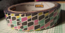 SCOTCH Decorative/Decorated EXPRESSIONS Masking Tape WRITABLE 3M Pink gray mod