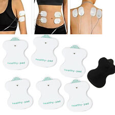 2pcs Electrode Pads Reusable For Tens Machine Digital Massager Therapy