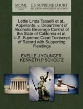 Lettie Linda Tasselli Et Al., Appellants, V. Department Of Alcoholic Beverage...