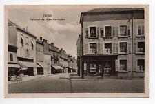 DIEUZE DUSS Moselle CPA 57 rue des halles et place du marché magasin