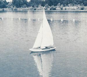 "Sea Foam Sailboat Model Boat Ship Plans, Templates, Instructions 31"""