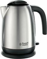 Russell Hobbs 23910 3kW 1.7L Rapid Boil Kettle Brushed Stainless Steel BRAND NEW