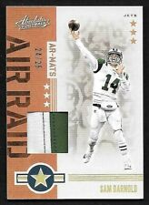 2019 Panini Absolute Air Raid #6 Sam Darnold 2 Color Prime Patch #24/25