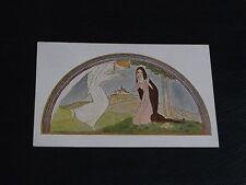 ORIGINAL RIE CRAMER GLAMOUR POSTCARD - WOMAN & ANGEL - W. DE HAAN.