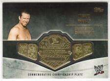 2014 TOPPS WWE THE MIZ COMMEMRATIVE CHAMPIONSHIP PLATE