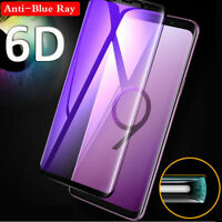 6D Curved Full Temper Glass Screen Protector For Samsung Galaxy Note 9 S9 S8Plus