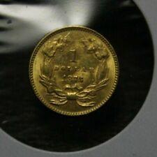 1873 $1 Indian Princess Head Gold coin