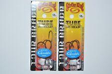 2 packs strike king tube jig bass jig head KVD 1/8oz gamakatsu hooks