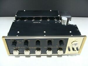 McIntosh C20 Stereophonic Pre-Amplifier Stereo Preamp Telefunken Tubes EEC83