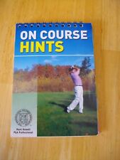 Golf 'On course hints' a stocking filler for the golfer in your life