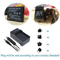 DMW-BCK7PP DMW-BCK7 Battery1200mAH  /Car/Home Charger FOR Panasonic Lumix Camera