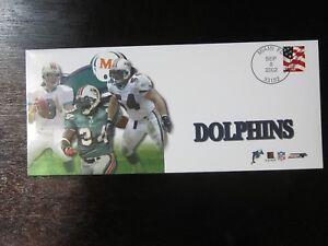 2002 Photo File Miami Dolphins Envelope Zach Thomas Ricky Williams Jay Fiedler
