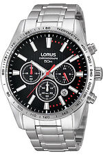 LORUS RT343DX-9,Men's Chronograph,QUARTZ,STAINLESS CASE,Brand New,50m WR
