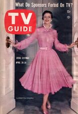 1957 TV Guide April 20-Loretta Young; Children's Hour; Tommy Sands; Phyllis Kirk