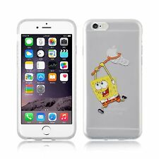 "Case/Cover Apple iPhone 7 (4.7"") + Screen Protector / Spongebob Squarepants Net"