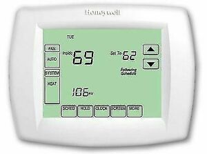 Honeywell TH811OU1003 Vision PRO 8000 7 day Touchscreen Programmable Thermostat